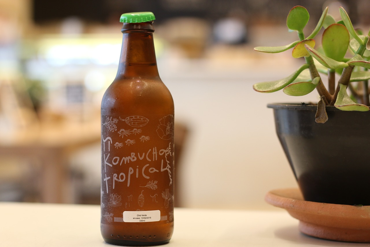 My first date with Kombucha in Hyderabad