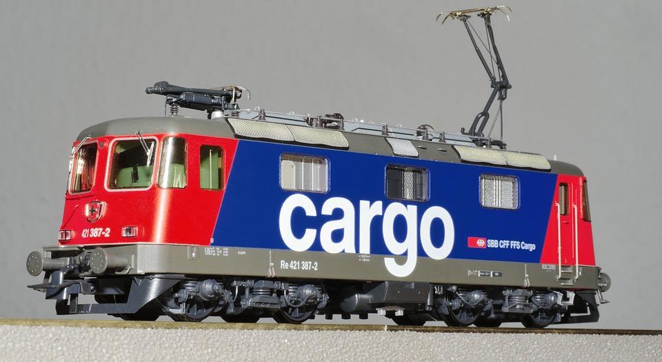 Kereta Rel Listrik, Model, Skala H0, Model Railway