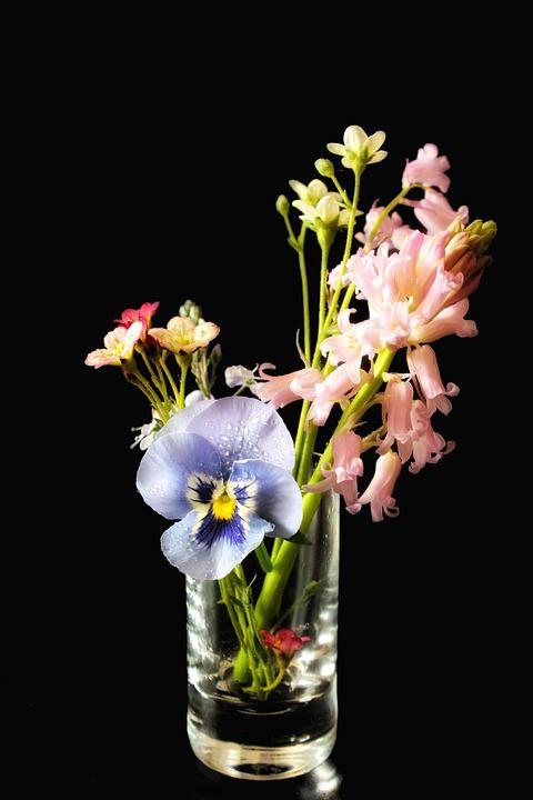 Spring Flowers Vase Free Photo On Pixabay