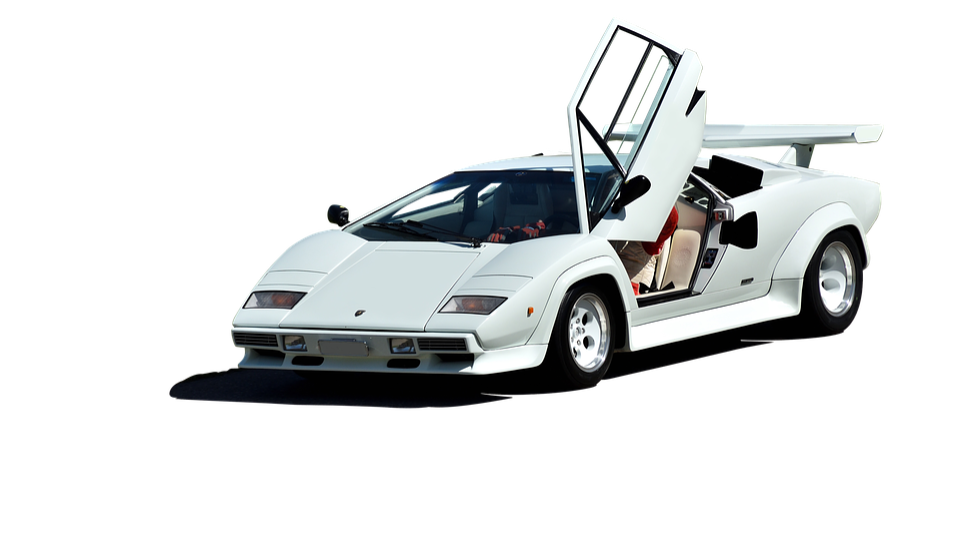 Lamborghini Countach V12 Free Photo On Pixabay