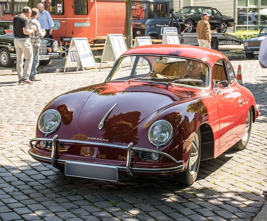 Porsche Oldtimer Vehicle Sports Free Photo On Pixabay