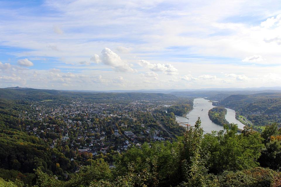 Drachenfels, Königswinter, Siebengebirge, Rhein