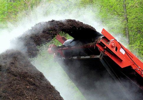 Compost Grinder, Compost, Chipper
