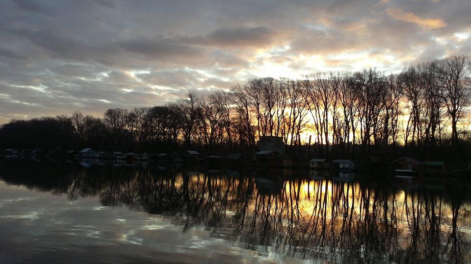 Sava Râul Noiembrie Mai Fotografie Gratuită Pe Pixabay