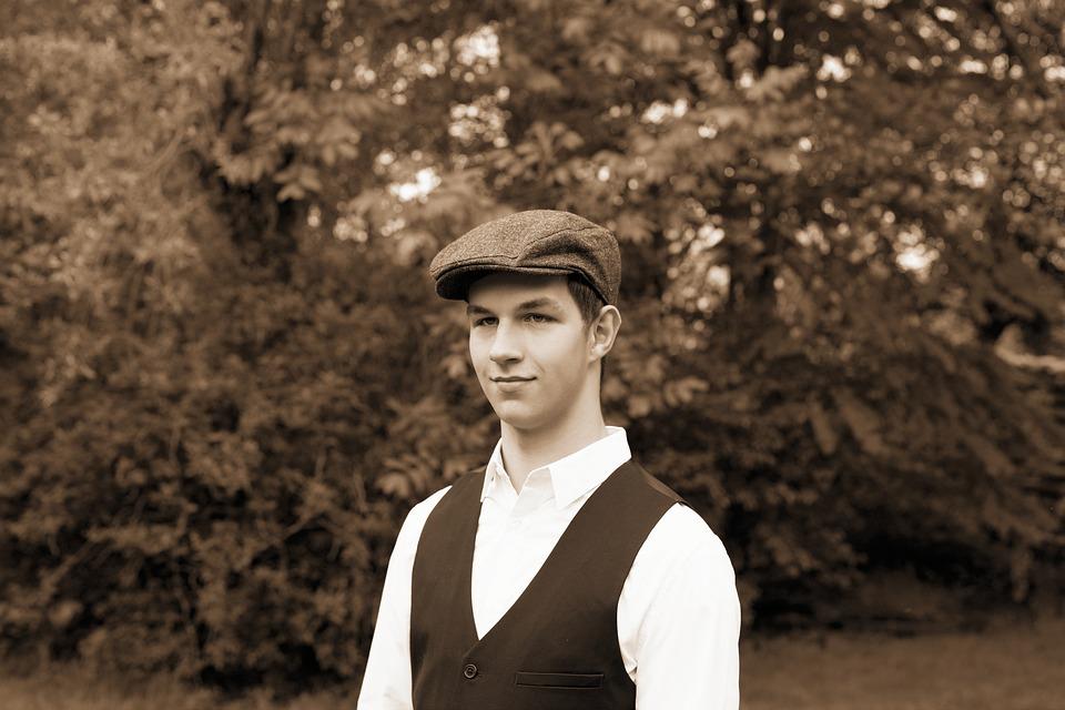 男 若い男 1920 年代 pixabayの無料写真