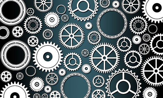 gears, machines, mechanical