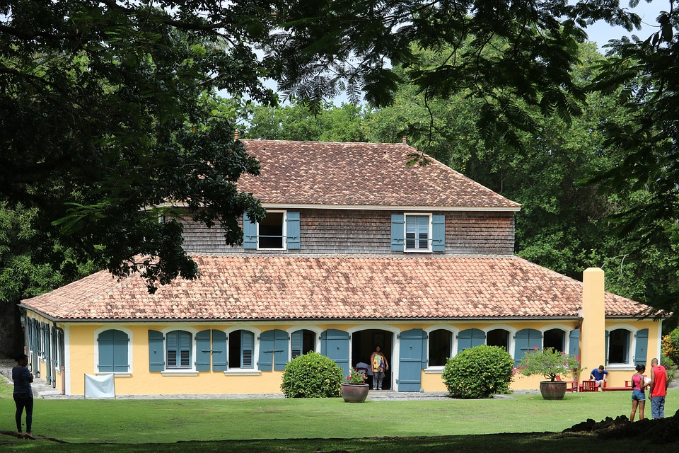 House Martinique Caribbean Colonial Housing