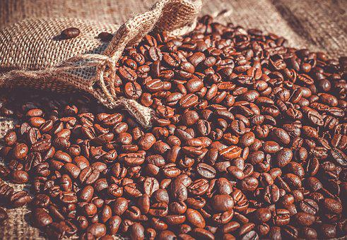 Coffee, Coffee Beans, Beans, Roasted