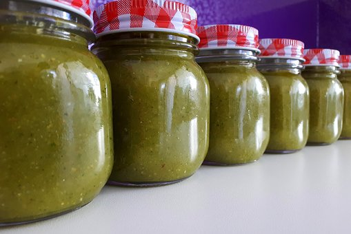 Basil, Basil Pesto, Garlic, Olive Oil