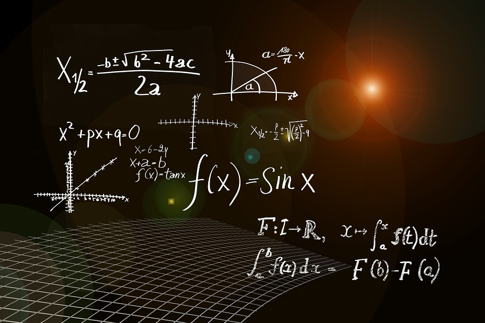 Mathe-Formel aus dem Alter