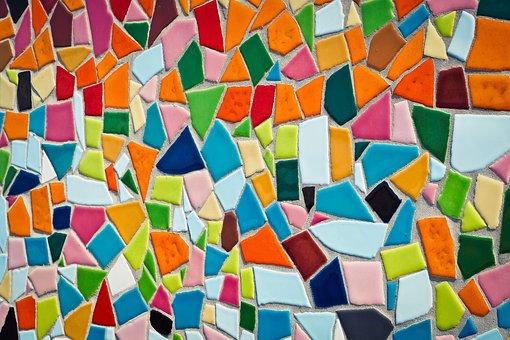 Mosaic, Tiles, Pattern, Texture