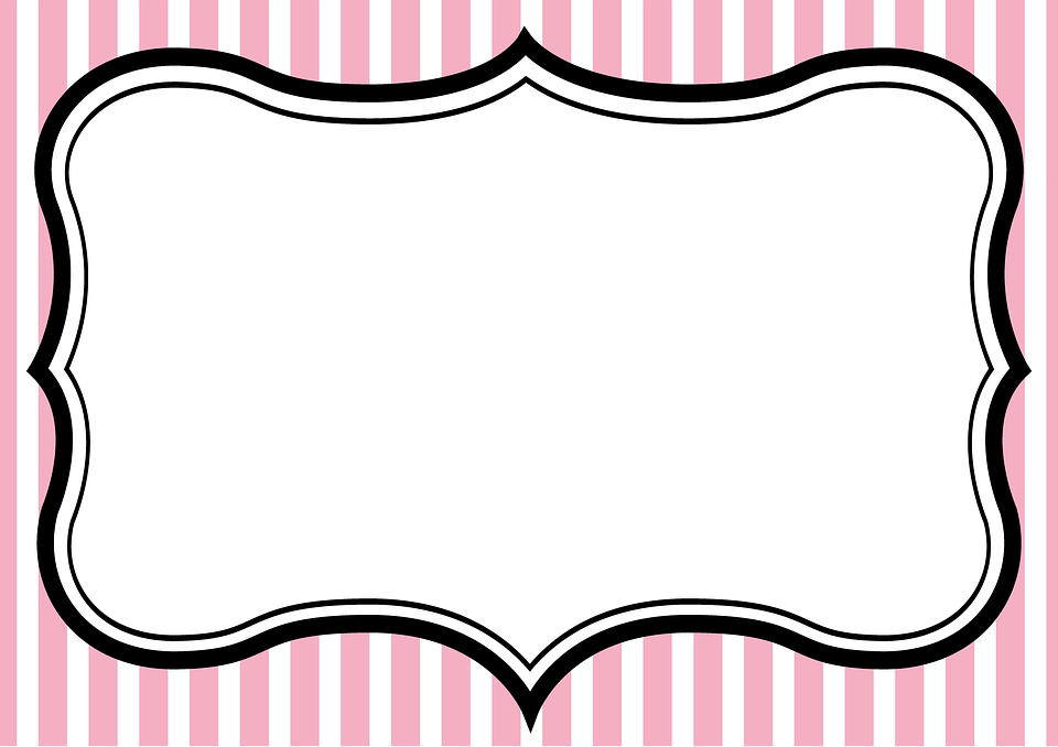 Pink Frame Invitation Tea Party · Free image on Pixabay