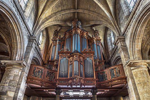 Pipe Organ, Church, Notre Dame, Le Havre