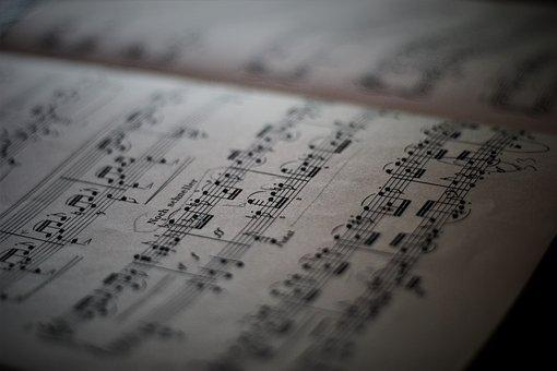 Lyrics, Sheet Music, Note, Music