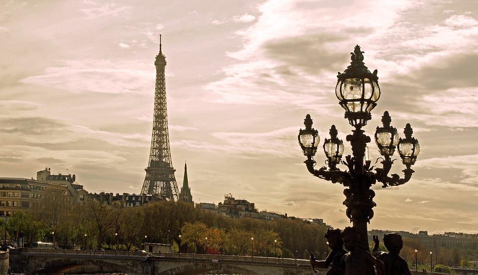 Parijs Eiffeltoren F Frankrijk