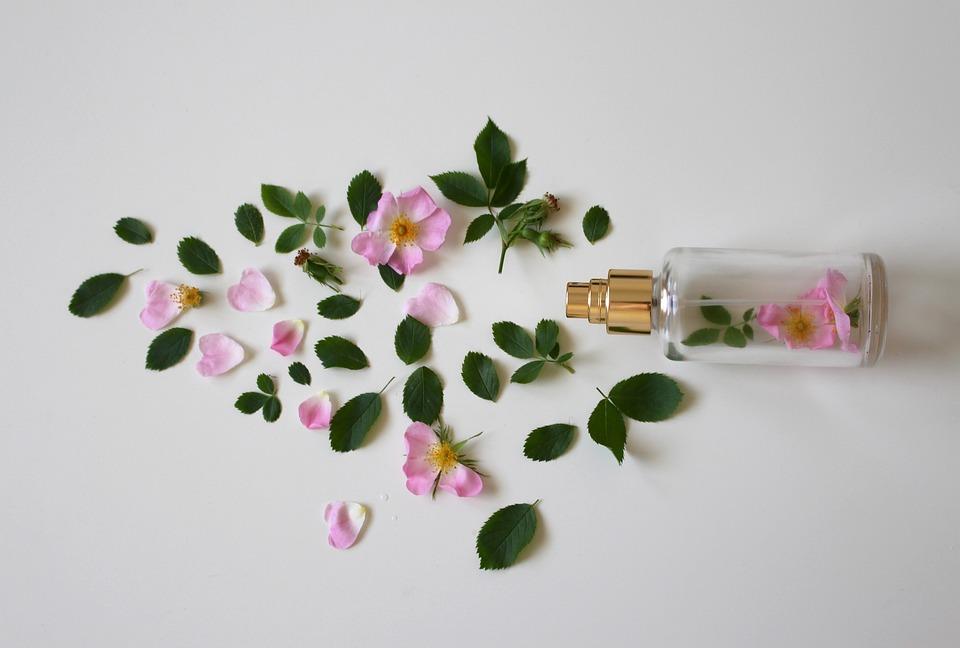 Aroma De Las Rosas, Perfume, Rosa, Botella