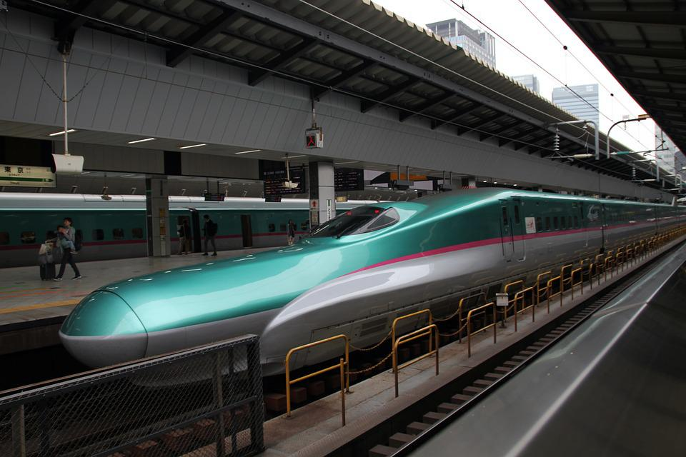 Modern Transportation by bullet trains facts stats