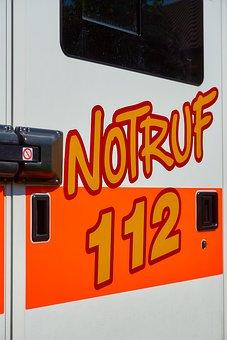 Rettungswagen, Asb, Notruf, Krankenwagen