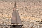łodzi żaglowej, jacht żaglowy, wypłynięcia statku