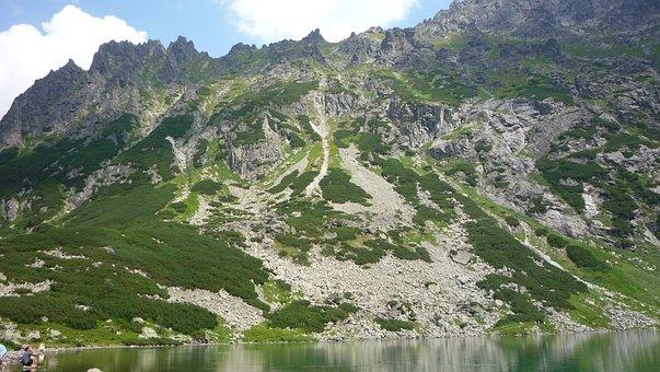 Polska, Tatry, Góry, Krajobraz, Przyroda