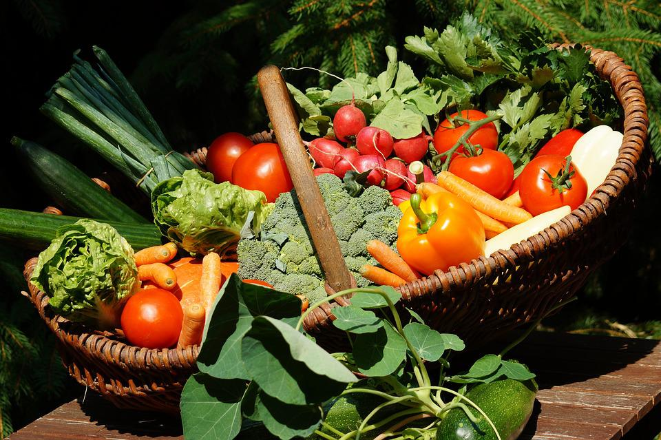 Vegetables, Vitamins, Vegetable Basket