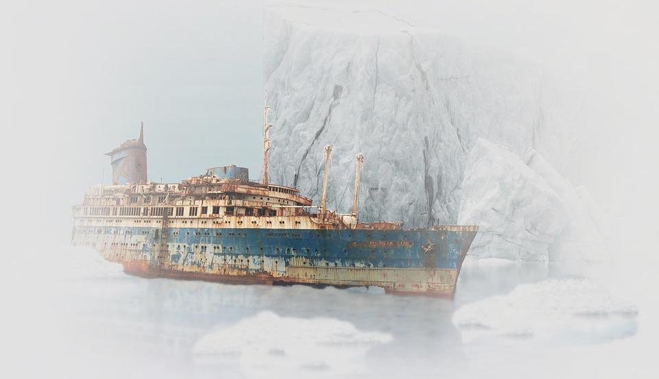 船, 難破船, 年, さび, 座礁した, 船の難破船, 神秘主義, 放棄された, 寒い, 壊れた, 錆びた