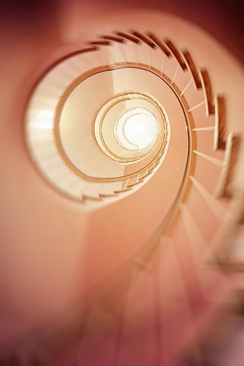 Escalier En Colimaçon, Progressivement, Escaliers