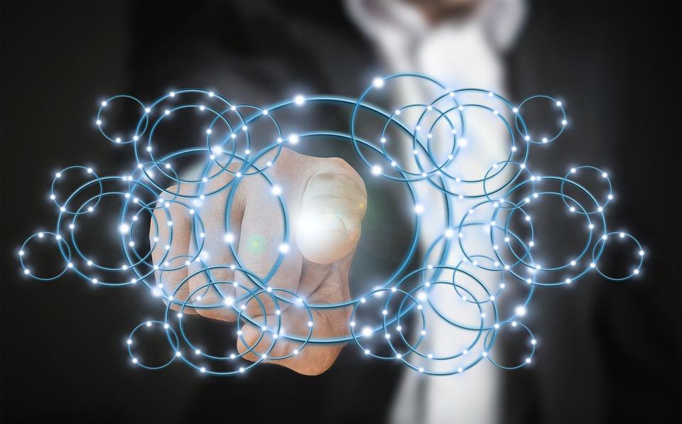 Tecnologia, Sviluppatore, Tocco, Dito