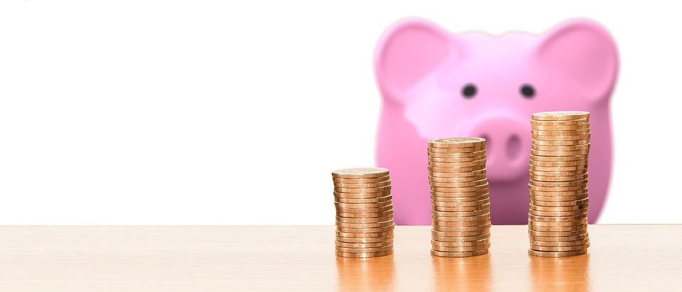 Save, Piggy Bank, Money, Coins, Finance, Economy