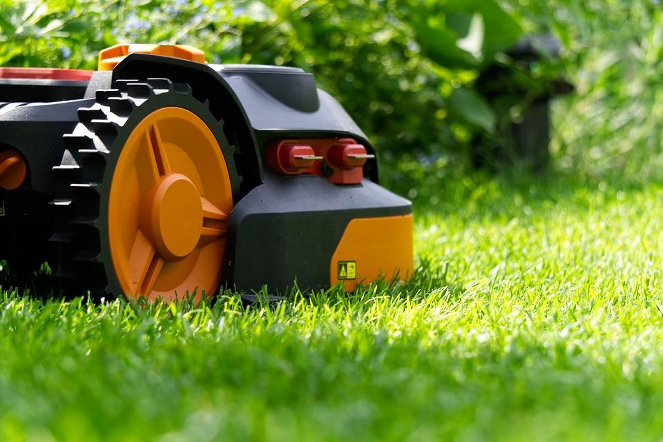 Robot Tondeuse, Robot, Autonome, Mow, Grass