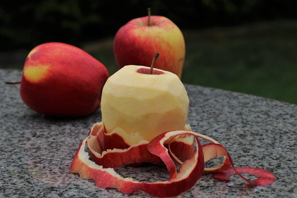 Purificado El Fruto De, Apple, Comer, Jugoso, Manzanas