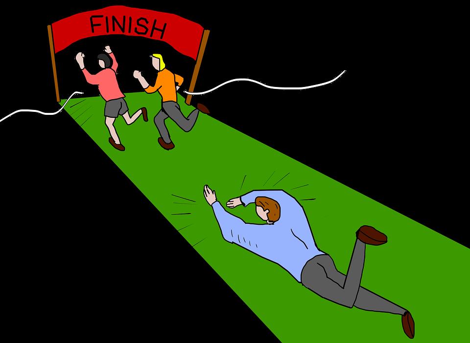 ゴール, 仕上げ, 仕上げライン, レース, 受賞者, 敗者, 実行している, 競争, コンテスト, ライバル