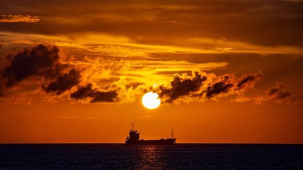 太陽, 夕日, 空, 雲, 夕陽, 夕焼け, 夕暮れ, 日本, 日没, 風景