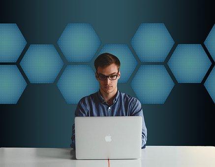 実業家, コンピュータ, Professional, ラップトップ, オフィス