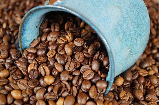 Ceramic, Coffee, Coffee Beans