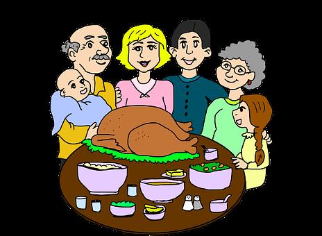 Family Dinner, Dinner, Party, Eating