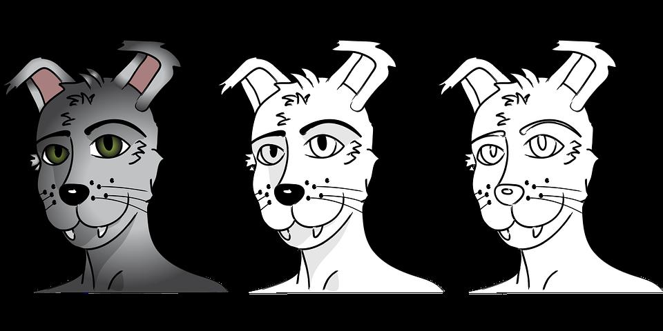 Komiks Vlci Muz Kresleni Vektorova Grafika Zdarma Na Pixabay