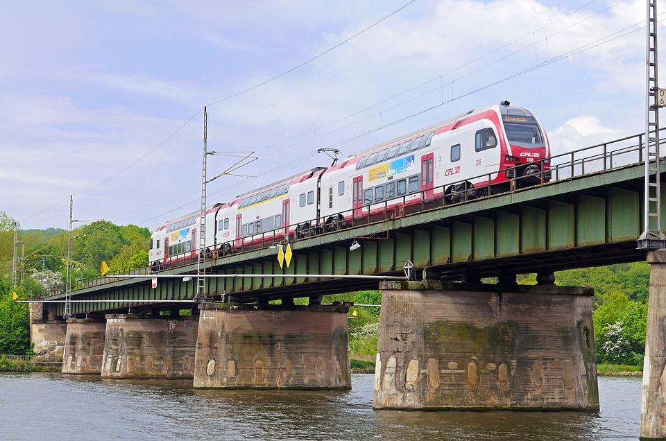 Mosel Bridge, Railway, Luxembourg, Trier, Conc