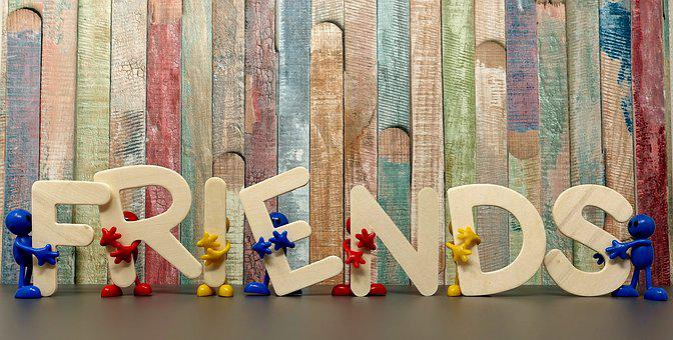 Vrienden, Samen, Vriendschap