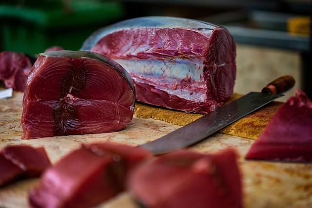 Tuna, Fish Market, Fresh Catch, Market, Fish, Fresh
