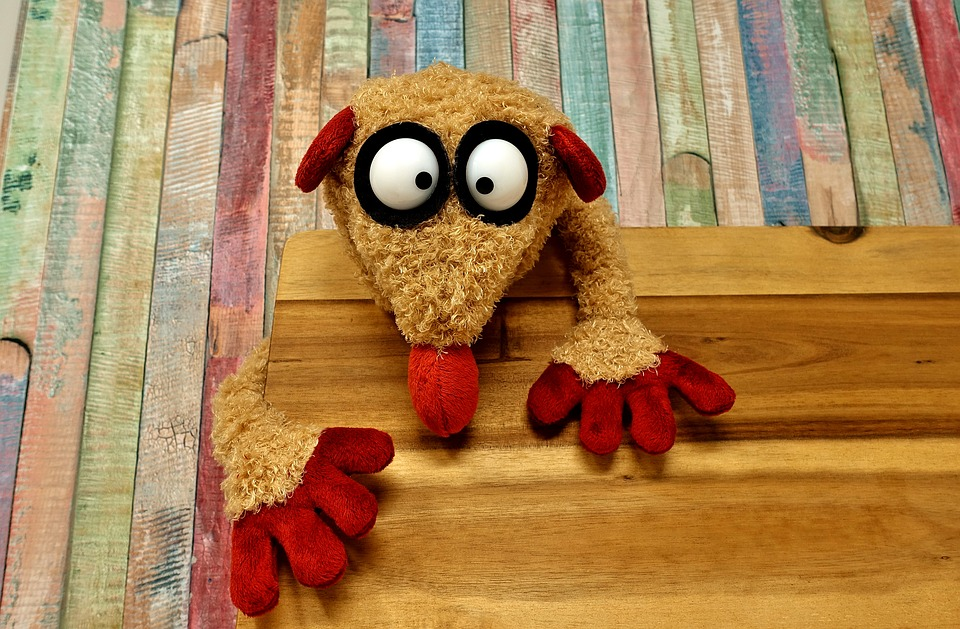 Soft Toy, Stuffed Animal, Funny, Hand Puppet