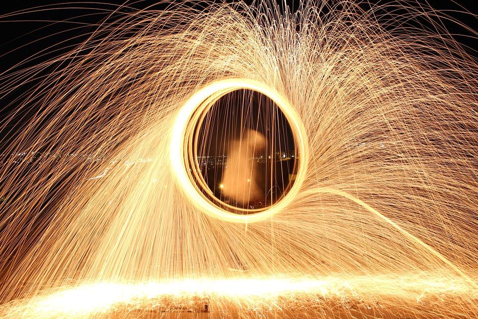 Işık Boyama Gece N Pixabayde ücretsiz Fotoğraf