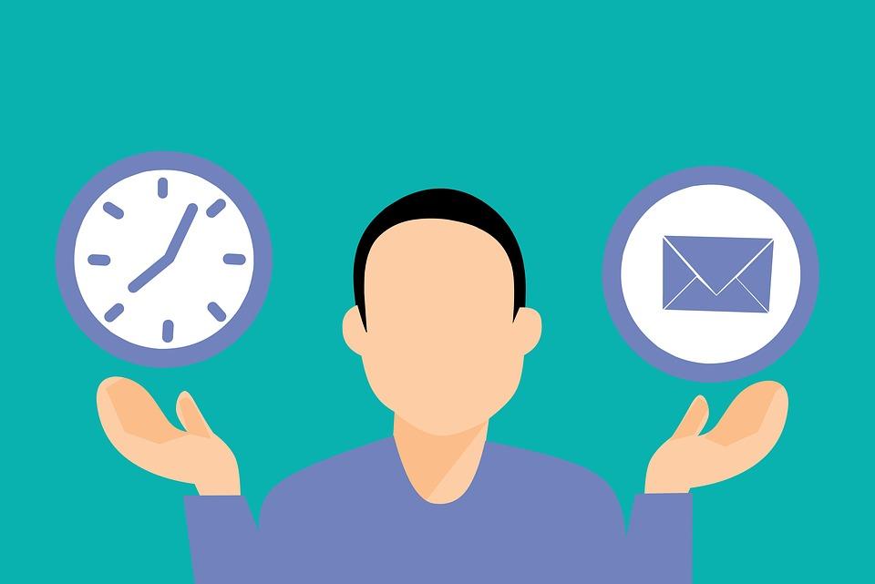 email idő gyakoriság