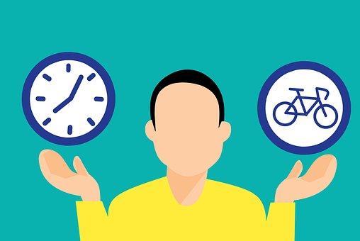 El Deporte, Bicicleta, Tiempo