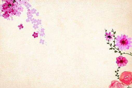 Flower, Background, Floral, Border