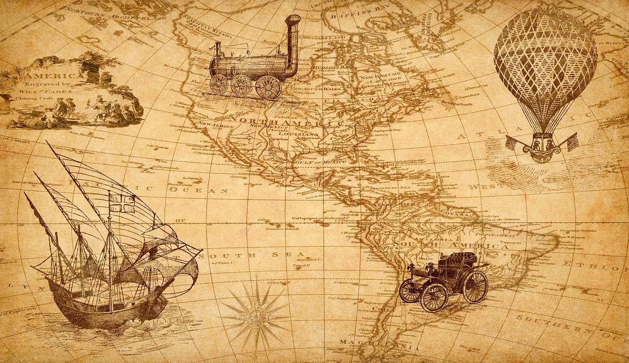 Картинка для презентации карта