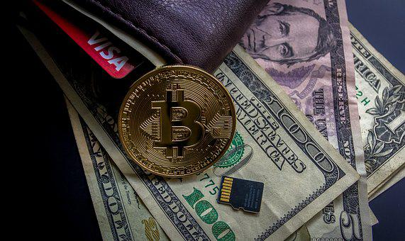 Cryptocurrency, Financial Concept