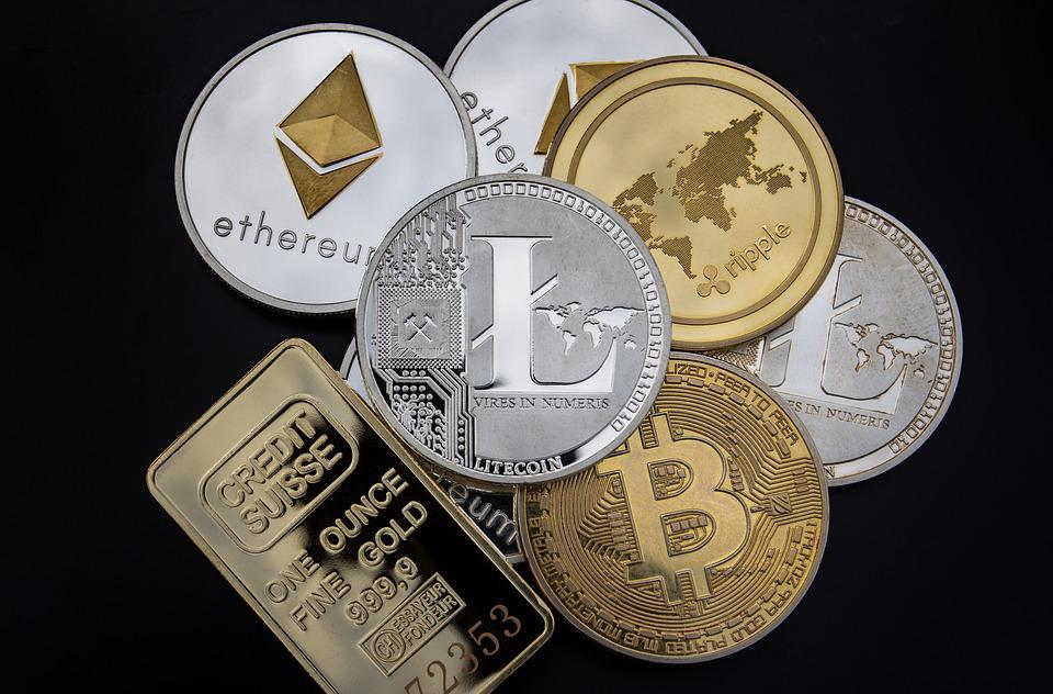 Cryptocurrency, Concept, Blockchain, Money, Litecoin