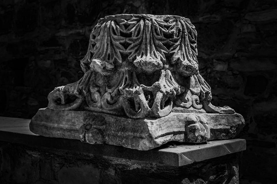 Cyprus, Troulli, Pillar, Corinthian Order, Column