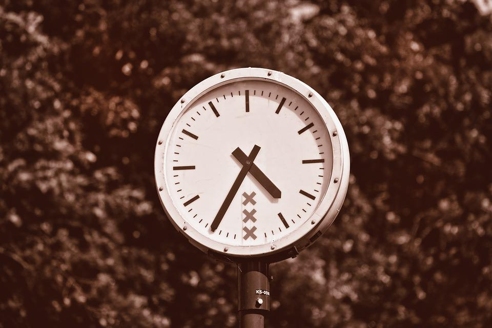 Clock, Time, Hour, Round Clock, Public Clock